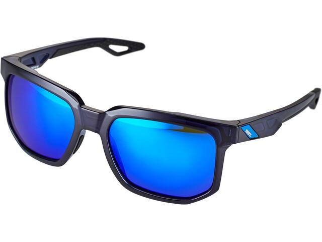 100% Centric Lunettes, polished translucent blue | mirror
